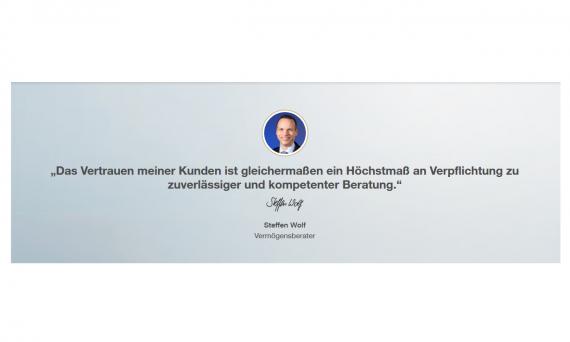 DVAG Steffen Wolf Logo