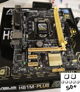 PC-Reparatur Mainboard